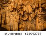 """Famous Cave """"cuevas Del Drach""""..."""