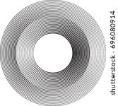 lines in circle form . vector... | Shutterstock .eps vector #696080914
