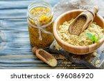 Mustard Powder In A Bowl ...