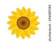 Logo And Symbol Of Sunflower...