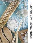 rice groats | Shutterstock . vector #696132904