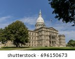 The Michigan State Capitol Is...