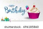 Happy Birthday Typography...