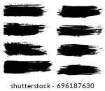 vector collection of artistic... | Shutterstock .eps vector #696187630