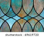 design detail of stained glass... | Shutterstock . vector #69619720