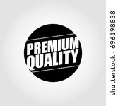 black premium quality | Shutterstock .eps vector #696198838
