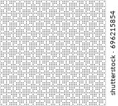 seamless monochrome dots grid... | Shutterstock .eps vector #696215854
