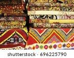persian carpets or iranian...   Shutterstock . vector #696225790