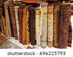 persian carpets or iranian... | Shutterstock . vector #696225793