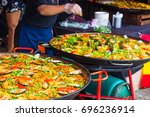 Small photo of Street Cooking for Paella : Paellia, Paejia, Paelia