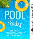 Pool Summer Party Invitation...