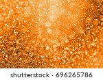 Abstract Modern Dark Orange...