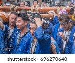 tokyo  japan   august 14th ... | Shutterstock . vector #696270640