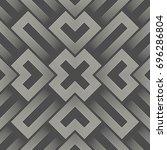 3d sacred geometry background.... | Shutterstock .eps vector #696286804