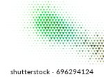 light green vector geometric... | Shutterstock .eps vector #696294124