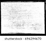 texture grunge. dust overlay... | Shutterstock .eps vector #696294670