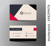 vector modern creative and... | Shutterstock .eps vector #696299476