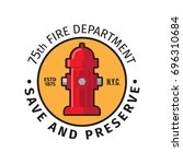 Fire Department Badge With Sav...