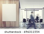 business people in an office...   Shutterstock . vector #696311554