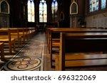 Interior Of Beautiful Old Church