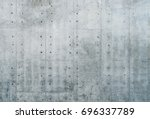 Smooth Bare Concrete Wall With...