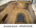 convent of christ of tomar is... | Shutterstock . vector #696341038