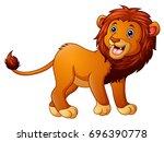 vector illustration of cute... | Shutterstock .eps vector #696390778