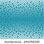 abstract geometric hipster... | Shutterstock .eps vector #696398200