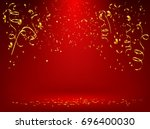celebration background template ... | Shutterstock .eps vector #696400030