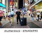 tokyo  japan   jul 23  2017 ...   Shutterstock . vector #696406990