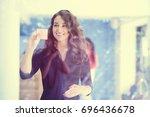 business  startup  planning ... | Shutterstock . vector #696436678