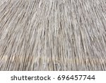 texture of dirty straw... | Shutterstock . vector #696457744
