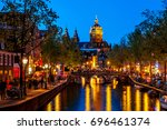 amsterdam  netherlands   april  ... | Shutterstock . vector #696461374