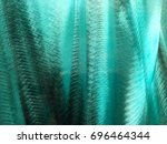 turquoise background.  | Shutterstock . vector #696464344