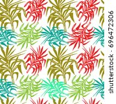 seamless vector pattern with...   Shutterstock .eps vector #696472306