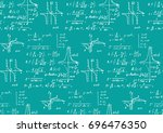 vintage scientific and... | Shutterstock .eps vector #696476350