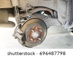 Car Wheel Was Repaired