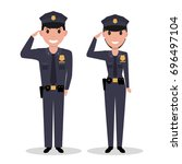 vector illustration of a... | Shutterstock .eps vector #696497104