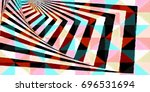 simple but complex color block  ... | Shutterstock . vector #696531694