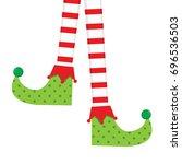 Elf Socks Vector