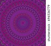 Dark Purple Mandala Fractal...