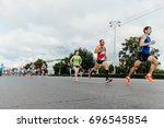 ekaterinburg  russia   august 6 ... | Shutterstock . vector #696545854