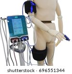 equipment for surgery isolated... | Shutterstock . vector #696551344