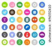 electronic icons | Shutterstock .eps vector #696552610