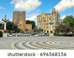 baku  azerbaijan   september 25 ... | Shutterstock . vector #696568156