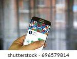 montreal  canada   july 30 ... | Shutterstock . vector #696579814