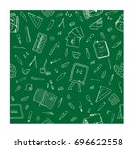 simple seamless pattern with...   Shutterstock .eps vector #696622558