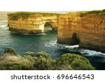 The Loch Ard Gorge Is Accessed...