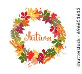 background with multicolor... | Shutterstock .eps vector #696651613