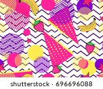 fruity seamless pattern with...